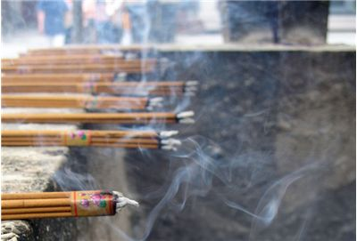 Picture Of Burning Incense