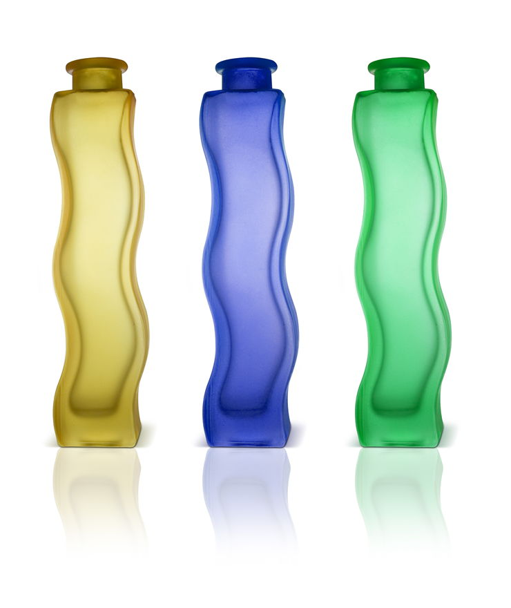 Picture Of Thre Bottles For Perfume